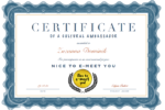 Thumbnail for the post titled: Certyfikat Ambasadora promującego kulturę